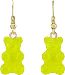 Snatch QQ Gummy Bear Handmade Earrings