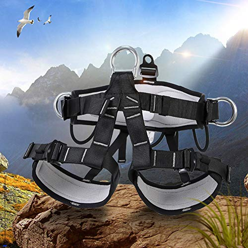 Climbing Safety Belt, Outdoor Climbing Rescue Belt Downhill Safety Half Body Harness high Altitude Belt Belt by HENRYY (Image #4)