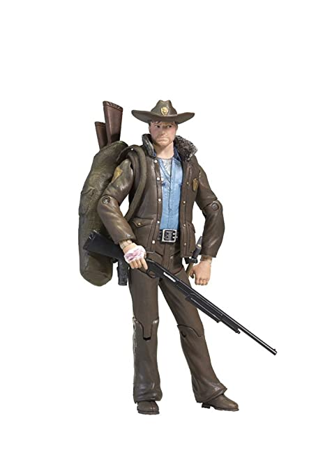 Amazon.com  McFarlane Toys The Walking Dead Comic Series 1 - Officer ... c09b995cfad