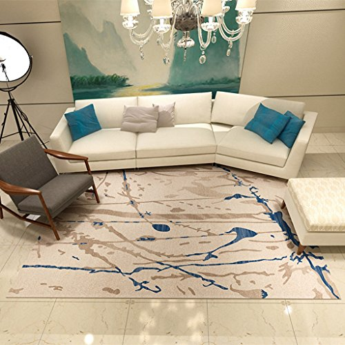 LOFAMI Modern Fashion Art Abstract Area Rugs, Comfortable Living Room Big  Carpet, Linoleum Design