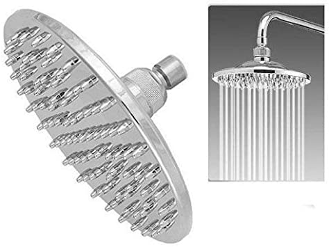 """Stainless Steel Modern Bathroom Ultra Thin 8/"""" 200mm ROUND Fixed Shower Head"""
