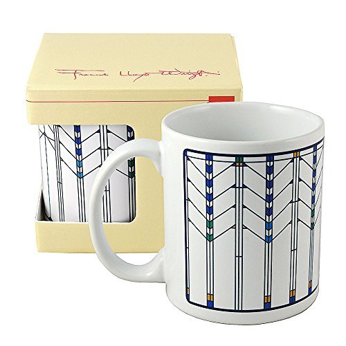Frank Lloyd Wright Ennis House Window Coffee Mug (Wright Frank Lloyd Textile Block)