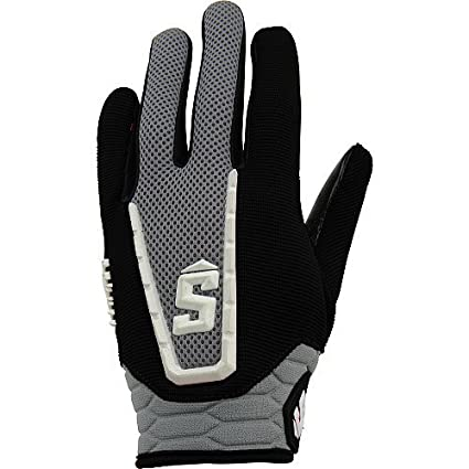 Amazon Com Schutt Youth Football Receiver Gloves Black White