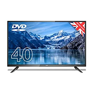 """Cello ZF0204 40"""" inch Full HD LED TV with Built-in DVD player and Freeview HD Made in the UK"""