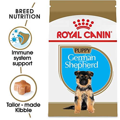 Royal Canin German Shepherd Puppy Breed Specific Dry Dog Food, 30 lb. bag