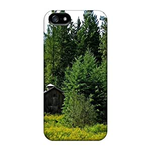 TVE13554cuIR Anti-scratch Cases Covers AlexandraWiebe Protective Abandoned Cottage In The Forest Cases For Iphone 5/5s