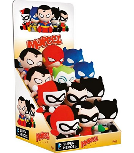FunKo Mopeez - DC Super Heroes Plush Display Case (12-Pieces) 10 Piece Pdq Display
