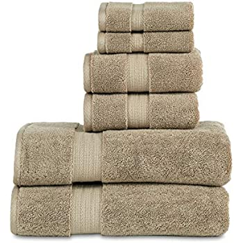 800 GSM 6 Piece Towels Set, 100% Cotton, Premium Hotel & Spa Quality, Highly Absorbent, 2 Bath Towels 27