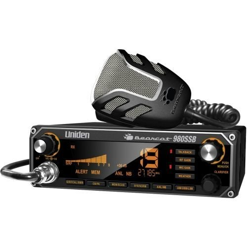 Uniden Bearcat 980 40-Channel SSB CB Radio w/ 7-Color Digital Display