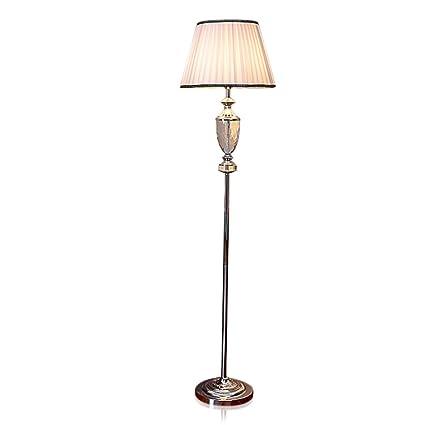 DHG Lámpara de Pie de Cristal Decoración de Lujo Europea ...