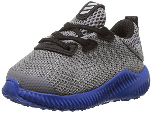 adidas Kids' Alphabounce Sneaker, Grey/Light Onix/Satellite, 7.5 M US Toddler by adidas (Image #1)
