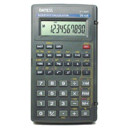 Datexx DS-638 136-Function Scientific Calculator
