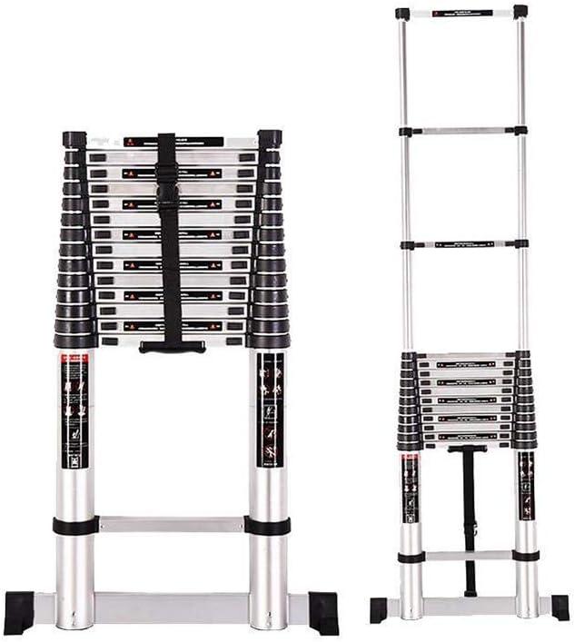 1058 YYHSND Escalera Plegable fórmula de contracción Familiar Escalera Recta Escalera de ático de ingeniería portátil Taburete (Size : 5.2m): Amazon.es: Hogar
