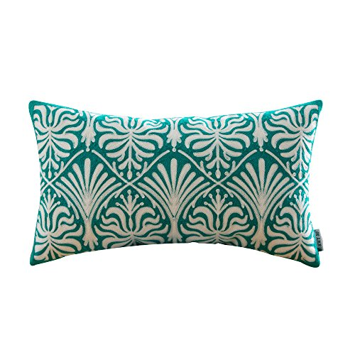 Teal Decorative Bed Pillow Amazon Stunning Teal Decorative Bed Pillows