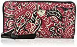 Marc Jacobs Recruit Paisley Continental Wallet, Chili Pepper Multi, One Size