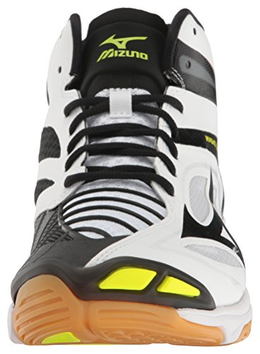 Mizuno Vague Des Hommes Z3 Mid Volley-chaussures Blanc / Noir