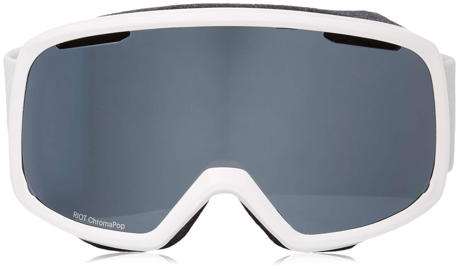 1424342975403 Amazon.com   Smith Optics Riot Women s Snow Goggles - Black Chromapop  Everyday Green Mirror One Size   Sports   Outdoors