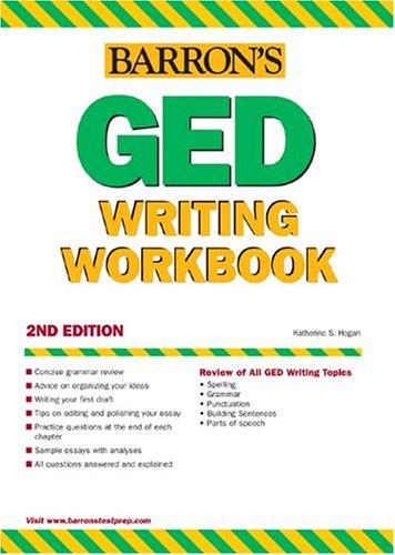 GED Writing Workbook