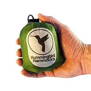 Hummingbird Hammocks Ultralight Single Hammock, Forest Green