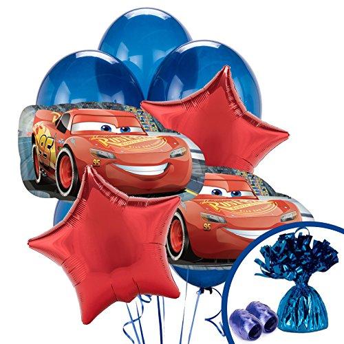 BirthdayExpress Disney Cars 3 Balloon Bouquet