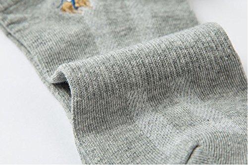 Pattern Alizeal Taille De 3 B Unique Homme Pairs Sport Chaussette Pour OfOa0Z