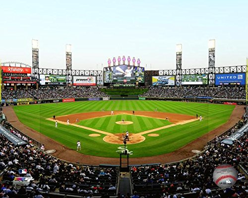 Chicago White Sox Guaranteed Rate Field MLB Stadium Photo (Size: 8