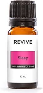 Revive Essential Oils - Sleep 10 ml - 100% Pure Therapeutic Grade, for Diffuser, Humidifier, Massage, Aromatherapy, Skin & Hair Care - Unrefined Oils with No Fillers