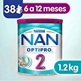 Nestle Nan Fórmula Infantil 2 Optipro, 1.2kg, Pack of 1