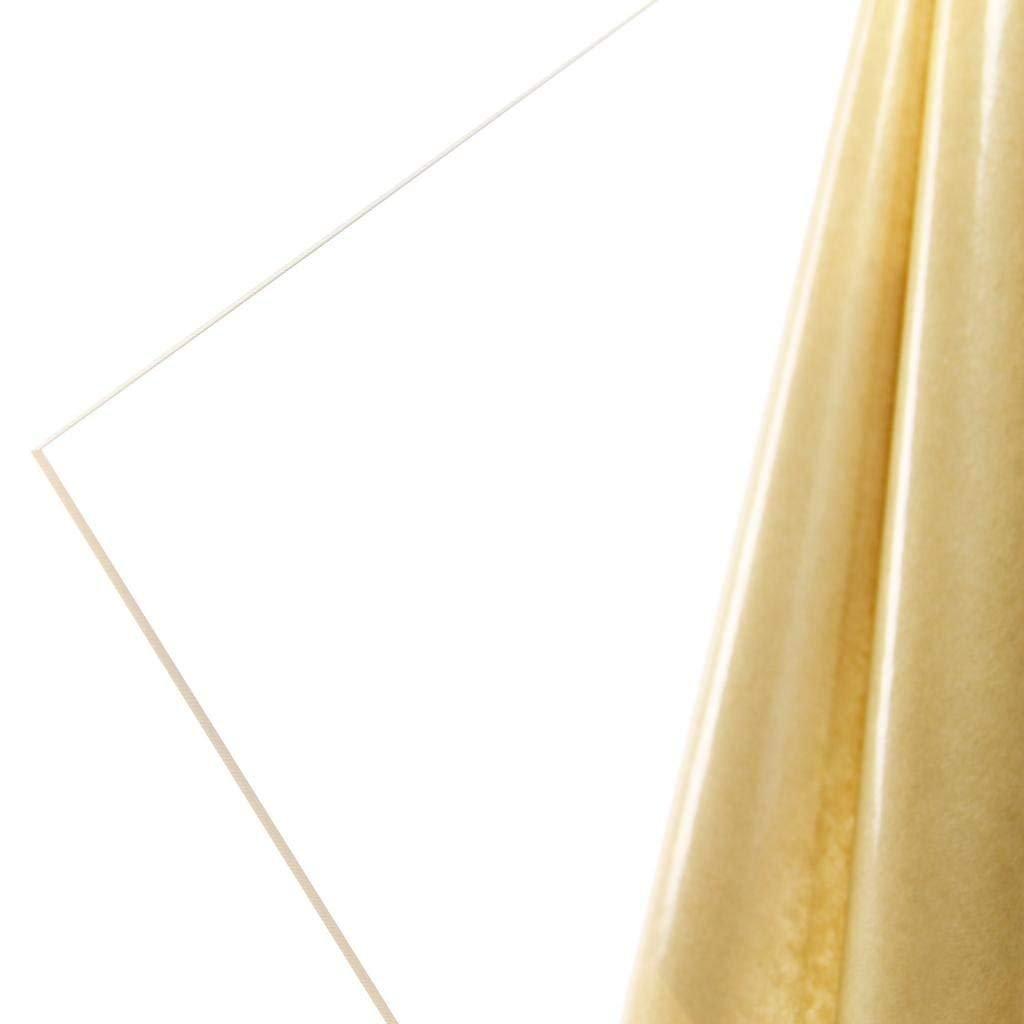 x 12 x 12 1//2 Clear Cast Acrylic Plastic Sheet .472
