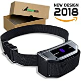 [NEW 2018 MODEL] Smart No Bark Collar By Naturepets 4 Differnt Vibration Training & 6 Different Shock levels for Medium Large or Small Dogs 18-120 Pound Dogs