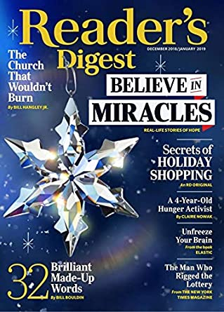reader s digest amazon com magazines