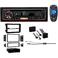 06-14 Volkswagen Gti VW Car JVC CD Player Receiver USB/AUX/MP3 3-Band Eq+Remote