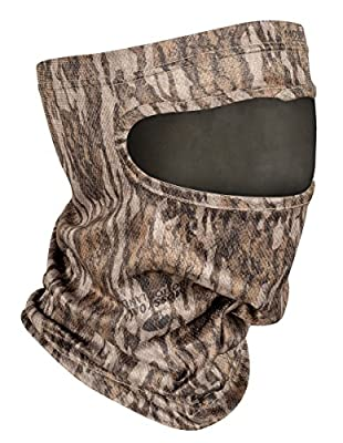 Mossy Oak Hunting Accessories Bottomland MO-S34CH-BM 3/4 Head Net With Spandex