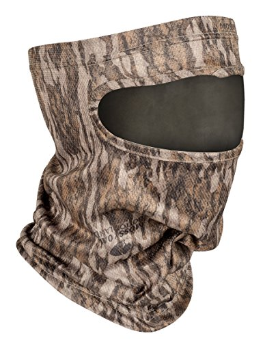 Mossy Oak Bottomland Camo Hunting Face Mask 3/4 Face Comfort
