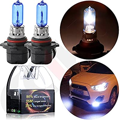 CCIYU Headlight Xenon HID White Halogen Light Bulbs