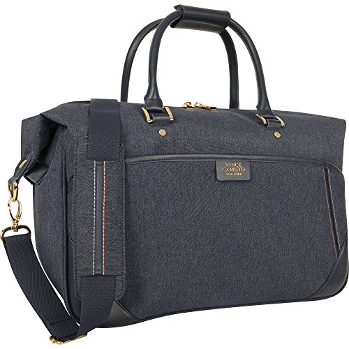 Vince Camuto Avrilly 17 In Weekender Tote, Blue by Vince Camuto