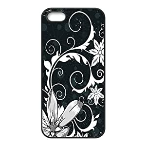 The White Lace Hight Quality Plastic Case for Iphone 5s by lolosakes