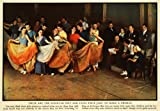 1935 Print 20th Century Fox King Burlesque Dance Chorus Baxter Faye Oakie Barrie - Original Color Print