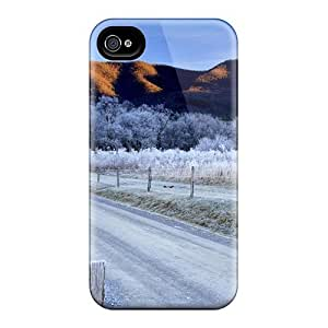Hot Covers Cases For Iphone 5C Cases Covers Skin - Winter Morning In Smokey Mountain Np