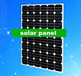 GOWE 150w 2pcs /300w Mono crystalline PV solar cell panel exported for home /business using
