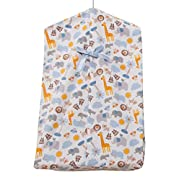Bedtime Originals Two By Two Noah's Ark Diaper Stacker, Blue/Gray