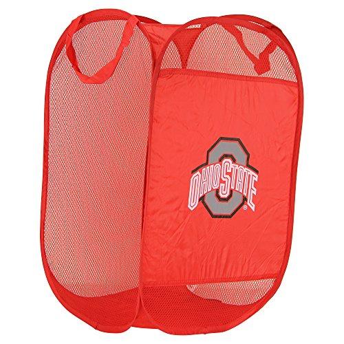 NCAA Hamper Team Logo Pop-Up LaundryBasket (Ohio State Buckeyes)