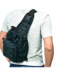 Liibot 600D Wear-resistant Oxford Casual Daypacks Sling Bag for Sports Camping