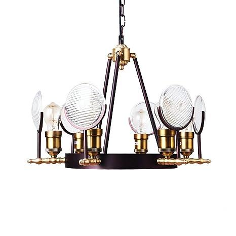 Lustre Araña lámpara de techo retro araña industrial de alta ...