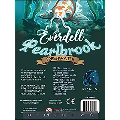 Everdell Pearlbrook Freshwater Upgrade Pack: Toys & Games