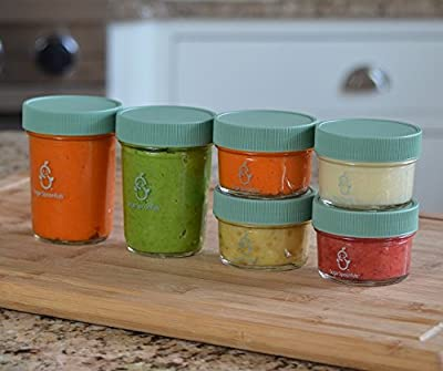 Sage Spoonfuls Jars, Bulk Glass Storage
