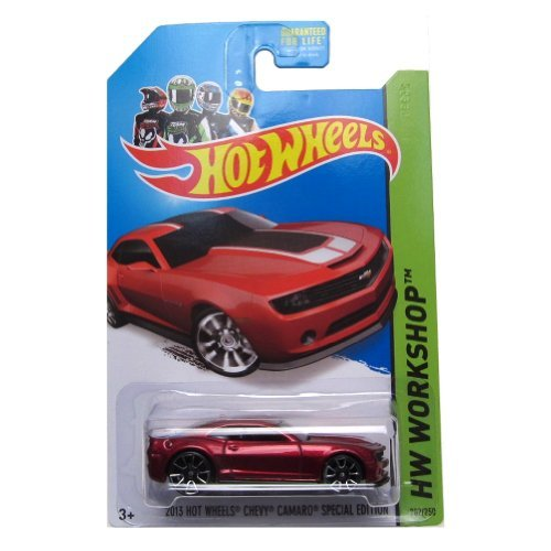 Hot Wheels 2014 HW Workshop 2013 Chevy Camaro Special Edition 202/250, Red (2013 Camaro Hot Wheels Edition For Sale)