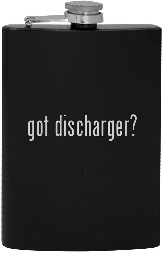 got discharger? - 8oz Hip Drinking Alcohol Flask