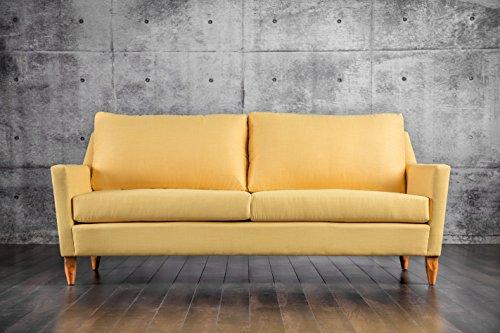Furniture Of America Kimmon Mid Century Sofa Yellow Best Sofas Online Usa