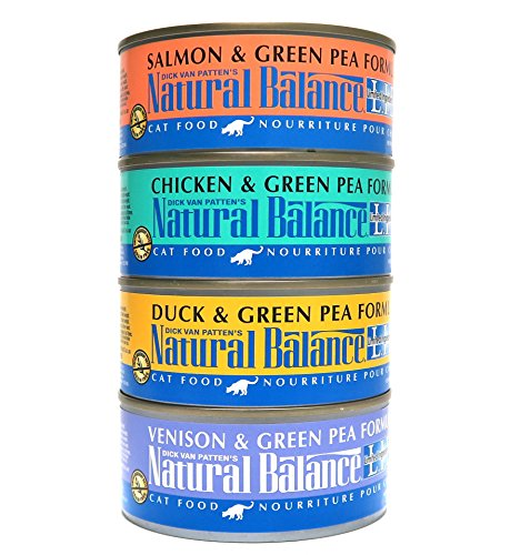 Natural Balance Wet Cat Food Variety Pack